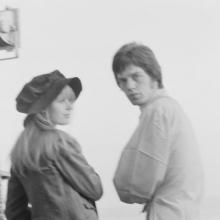 Mick Jagger & Marianne Faithful